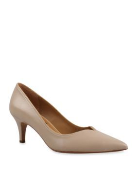 Kay Unger New York Women's Shimsham Pump - Tan/Khaki - 8M