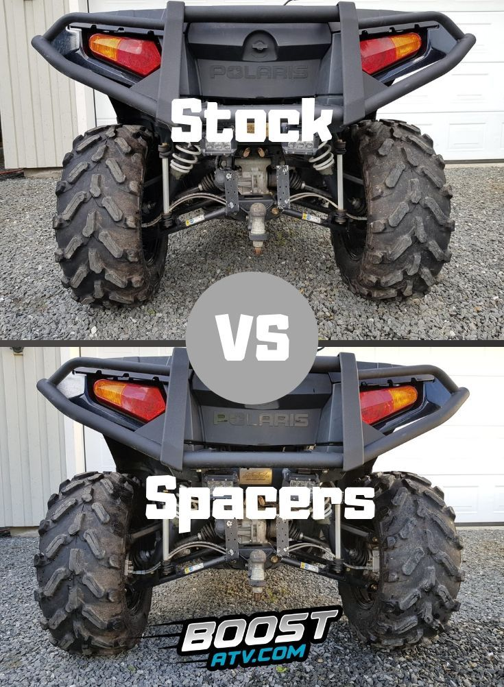 Are Atv Wheel Spacers Good Or Bad Atv Wheels Atv Spacer