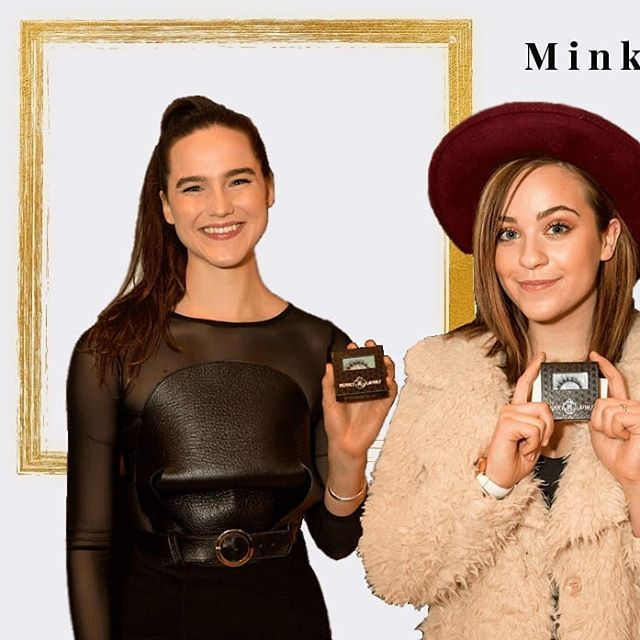 """Singers Cailee Rae and Sophie Hawley-Weld (Sofi Tucker duo) for #MinkiLashes at the Geammy' s celebrity gifting lounge (#throwback) . . . . . ."" by @minkilashes."