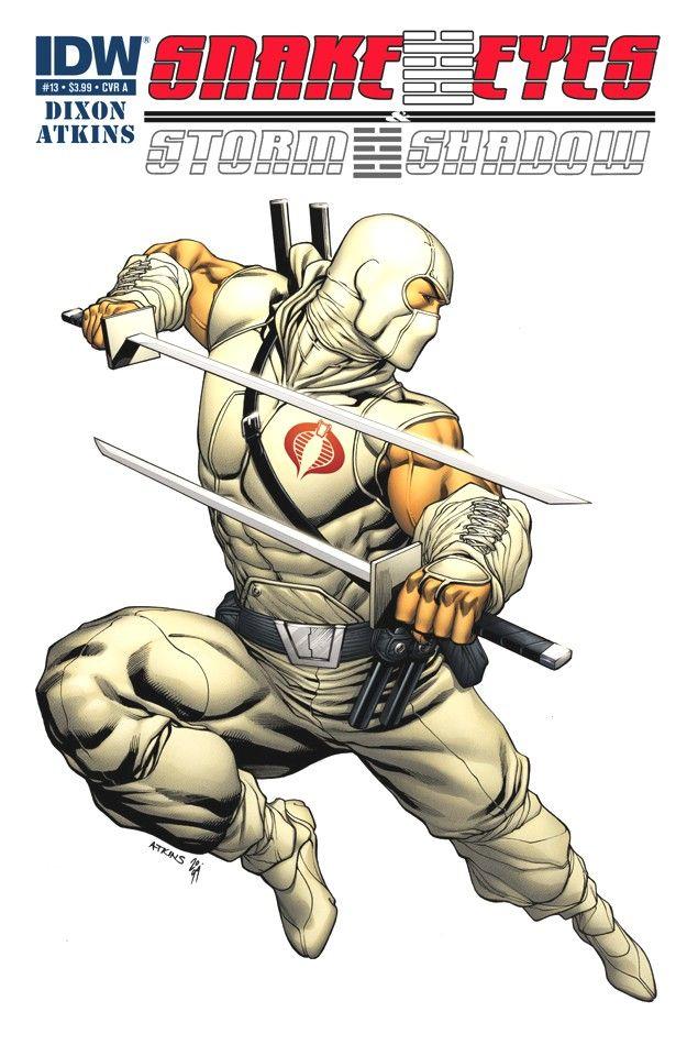 Snake Eyes & Storm Shadow #13
