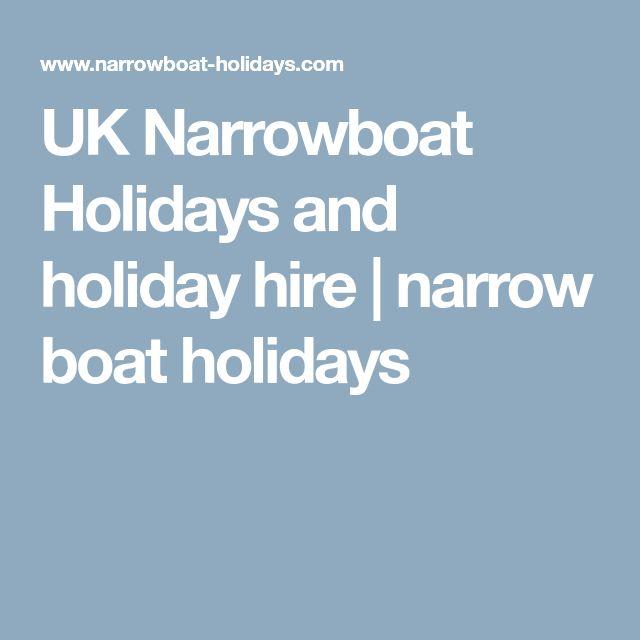UK Narrowboat Holidays and holiday hire | narrow boat holidays