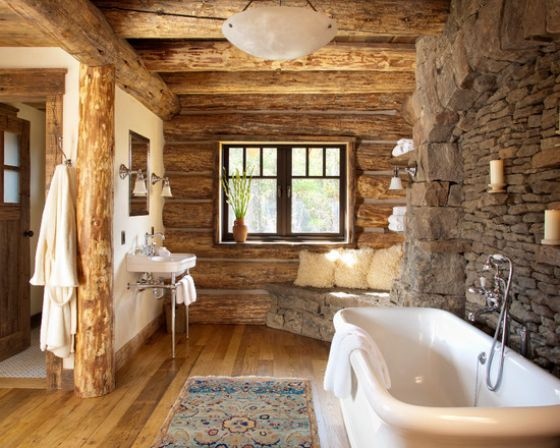 bathroomwinsome rustic master bedroom designs industrial decor. Rustic Bathroom In Stone And Wood With A Snug Corner Bench [Design: Pearson Design Group] Bathroomwinsome Master Bedroom Designs Industrial Decor