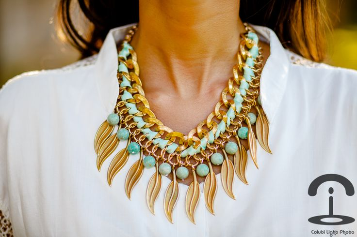 DIY Statement necklace. Love this!: Turquoi Necklaces, Statement Necklaces, Diy Necklaces, Diy Collars, Collars Necklaces, Jewelry, Collars Con, Canon Eos, Vintage Inspiration