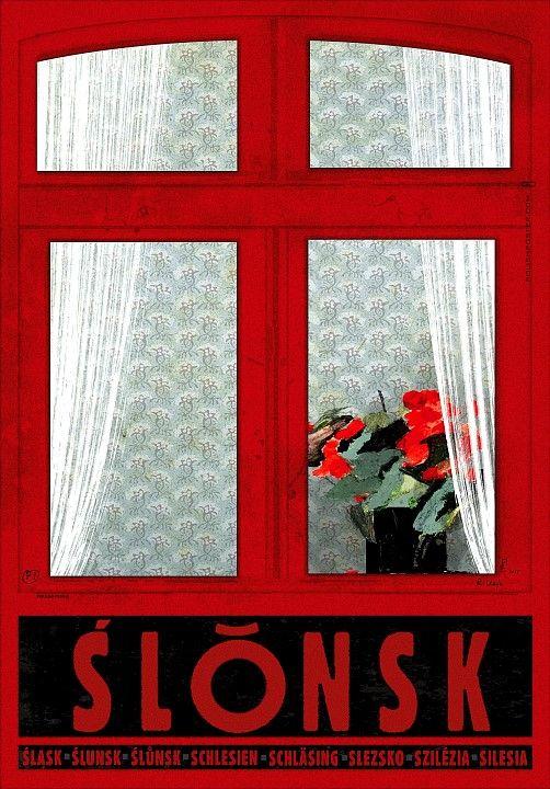 Slonsk, Polish Poster, Ryszard Kaja