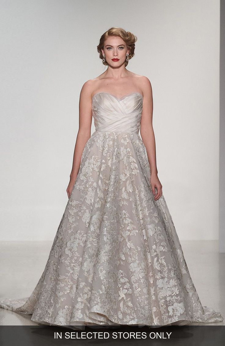 Buy MATTHEW CHRISTOPHER Shelby Strapless Organza