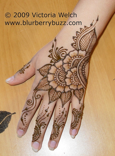 I dream about being as good as Victoria Welch.  She's my henna hero!