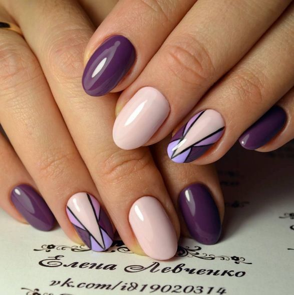 Love this art deco inspired nail art