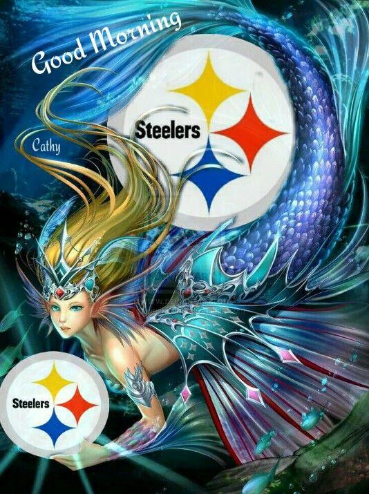 Steelers mermaid