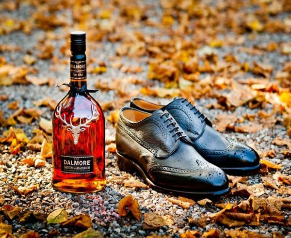 shoes and whisky, two passions