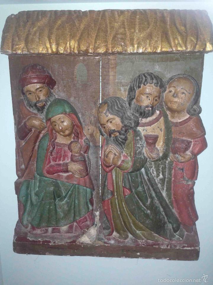 Retablo de la Adoración siglo XVI - Foto 1
