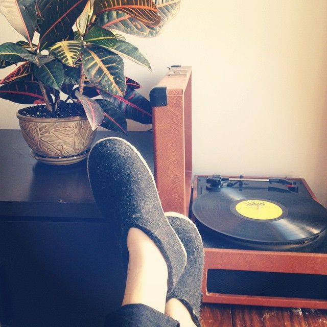 #Glerups are our favourite passtime! #slippers #Glerups #wool #Toronto #Denmark #handmade #warm #vinyl #plant #croton