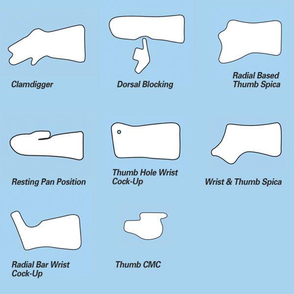 hand based dorsal blocking splint - Google Search