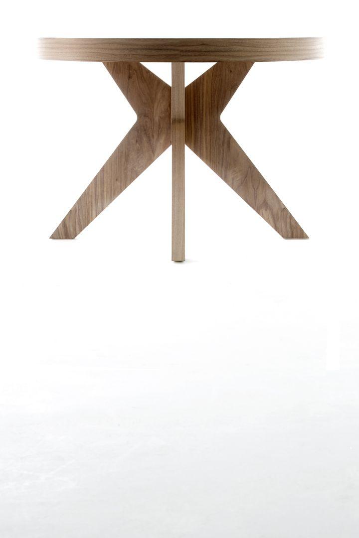 1000 images about mesas redondas on pinterest madeira - Mesa de comedor redonda ...