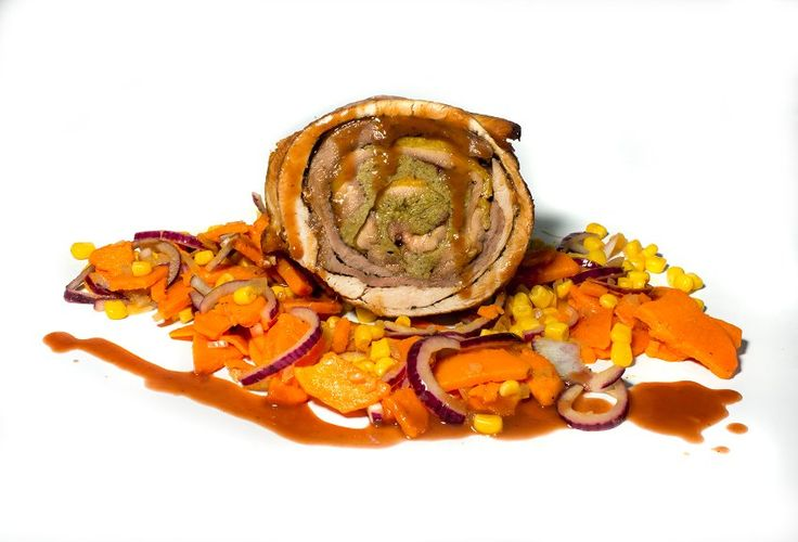 Rezept für Turducken mit Süßkartoffel-Mais-Salat: Make Thanksgiving Great Again - SPIEGEL ONLINE - Stil
