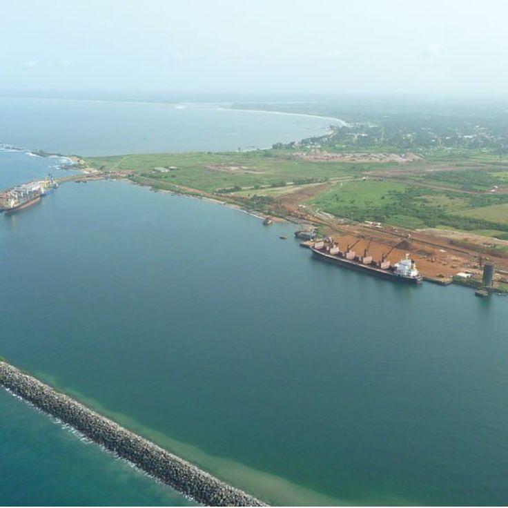 Port of Buchanan... Monrovia, Liberia. #monrovialiberia #liberiatravel #vactioninliberia #toptagsliberia #tagliberia #vacationmodeliberia #liberiaentertainment #homeoftheliberians #homeofthe #westafricans #tropicalcountry #monroviavaca #lsvm #lsvmagazine