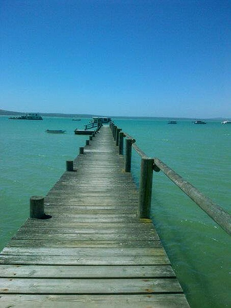 West Coast National Park. Langebaan lagoon and rentable house boats. Just an hour from Cape Town.