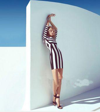 Klik w zdjęcie, a przejdziesz do sklepu :) Sukienka w pasy