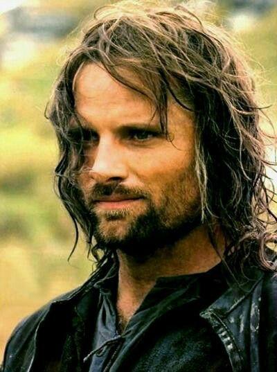 Aragorn. El señor de los anillos.