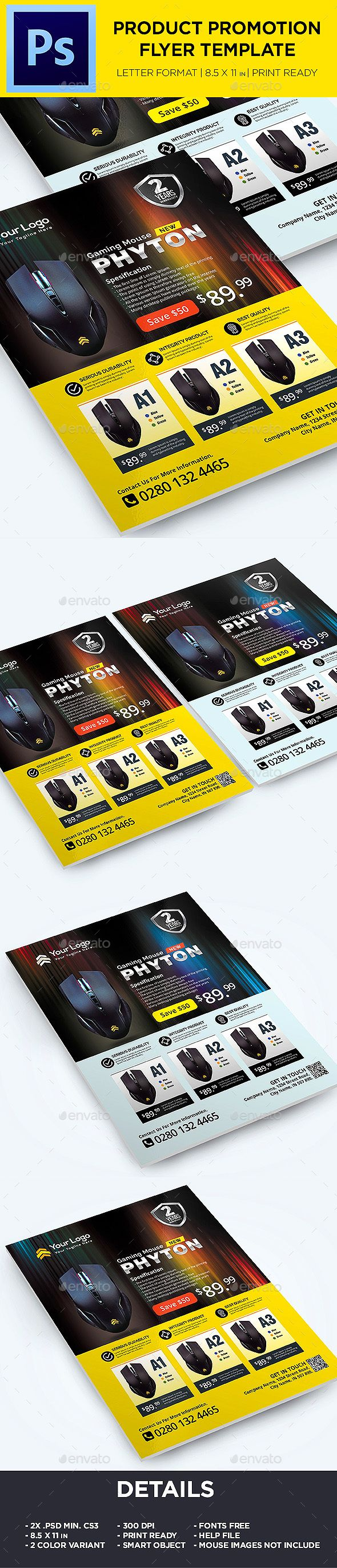 Product Flyer - Sale Promotion Flyer Template