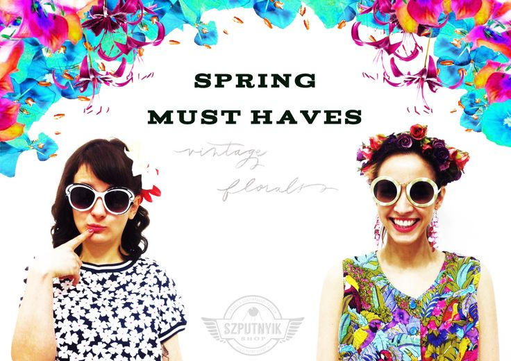 Must-haves items for this spring.