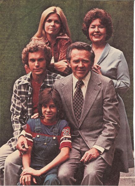 """""""Family"""". High school crush on Gary Frank whom, later in years, got to talk with through my work. Sada Thompson always reminded me of my mom."""