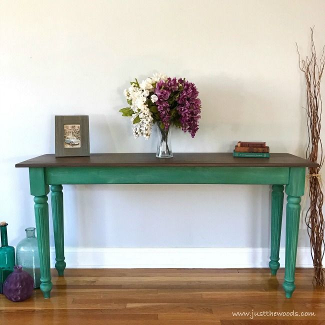 The Best Method For Sealing Painted Furniture Painted Table Wood Table Diy Furniture Makeover