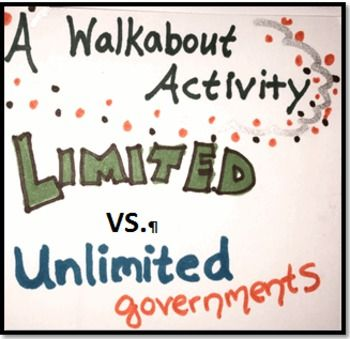 Worksheets Limited And Unlimited Government Worksheet 17 best images about celebrate freedom week on pinterest graphic limited vs unlimited governments walkabout activity and 5 e lesson
