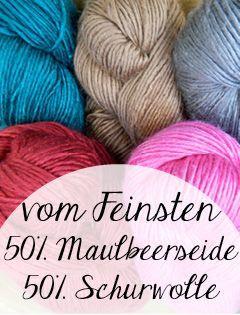 © Die Maschen zum Glück | Wolle aus Schurwolle und Seide | Wolle online kaufen