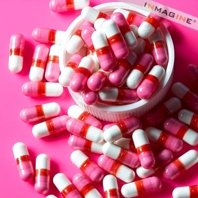 Happy pink pills