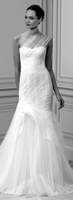Angelina Jolie Wedding Dress Bridal Fashion Pinterest
