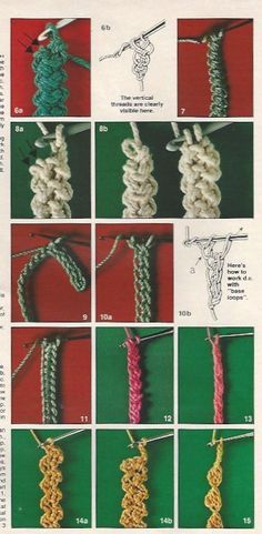 Romanian Point Lace crochet cords and braids in Anna Burda magazine, March 1981