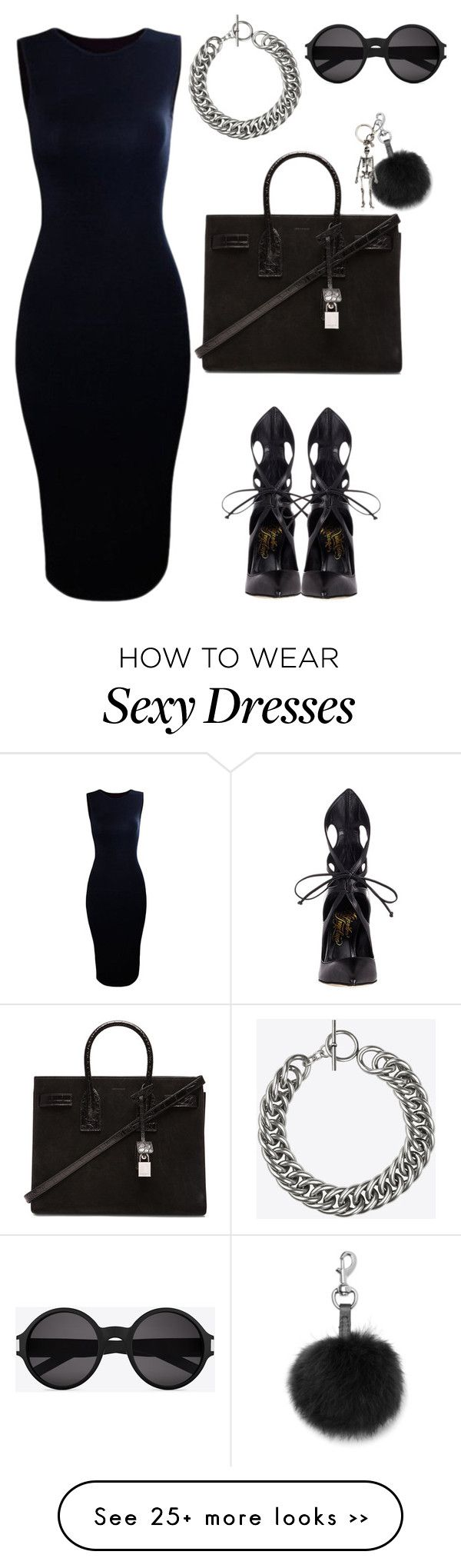 """Work chic"" by rabbitcult on Polyvore featuring Alejandro Ingelmo, Yves Saint Laurent, Rebecca Minkoff and Alexander McQueen"