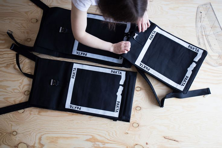 PAKTA is a Bratislava studio crafting functional, screen-printed bags that are built to last.