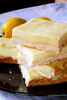 Light Lemon Coconut Bars.   These are heavenly light and so delicious! There are no eggs in this recipe, no butter, no diary.