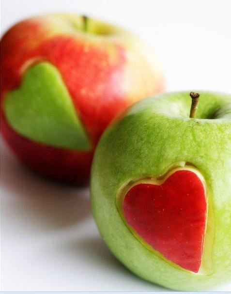 apple luv....so simple yet so cute! love the recipes on this site