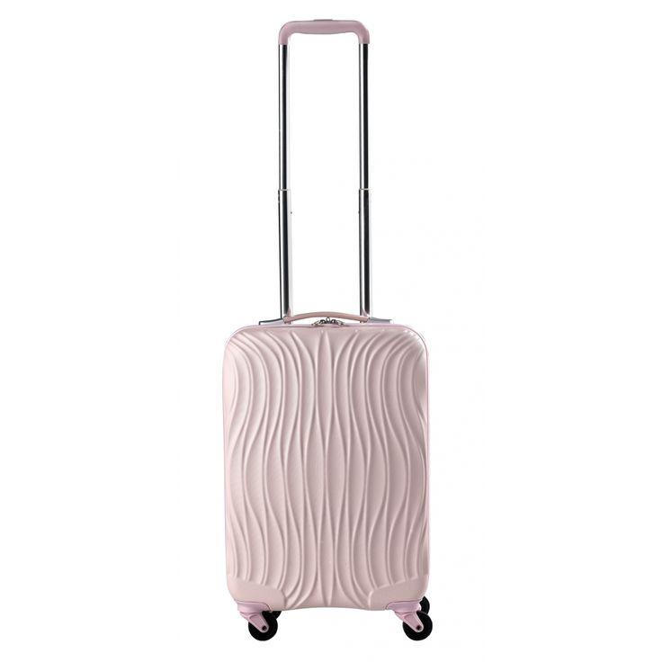 CarryOn Wave Handgepäck Trolley 55cm Baby Rosa