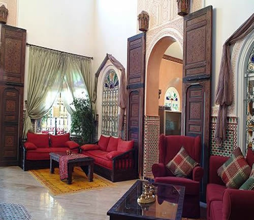 Moroccan Home Design For Living Room