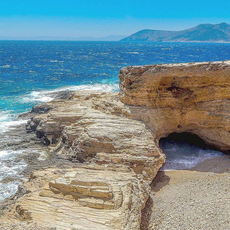 Amazinga and unique Gala beach at Koufonisia island (Κουφονήσια)