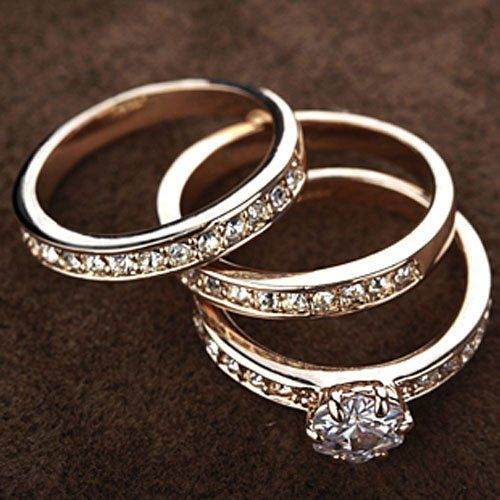 Wedding Ring set from MMT Jewelry