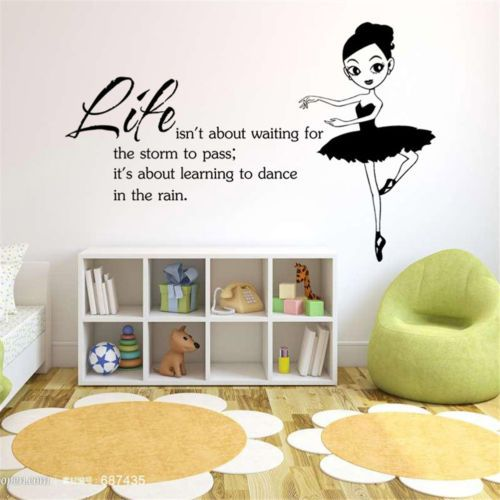 Learning-to-Dance-In-The-Rain-Words-Popular-Wall-Removable-Sticker-Mural-Art
