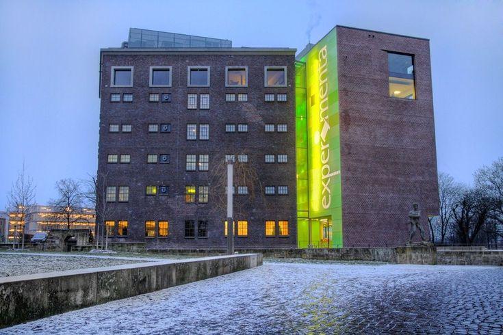 experimenta Heilbronn - das größte Science-Center in Süddeutschland plant Erweiterung