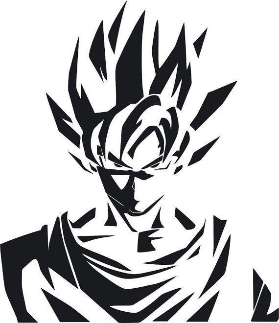 Dragon Ball Super Wallpaper 1080p Full Size: Dragon Ball Z Goku Super Saiyan Decal By StickersLike On
