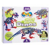 ZOOB Dinos világító dinoszauruszok építőjáték