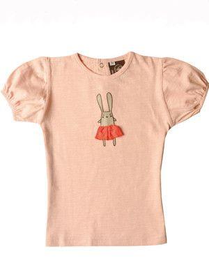 Ideo Estelle Pink Bunny Ballerina Tee – Wild Dill