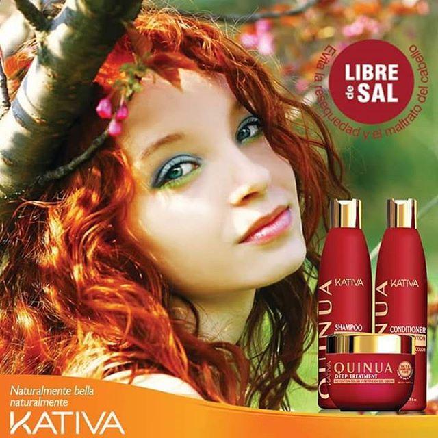 • Η σειρά Κativa tucabello Natural Quinoa παρέχει τη λύση για τα βαμμένα μαλλιά, παρέχοντας δύναμη, φωτεινότητα και λάμψη στο χρώμα των μαλλιών σας. • Αποτρέπει το ξεθώριασμα των βαμμένων μαλλιών, παρατείνοντας το λαμπερό τους χρώμα • Είναι χωρίς αλάτι και θειικά, αποτρέποντας την ξηρότητα και την κακοποίηση των μαλλιών.