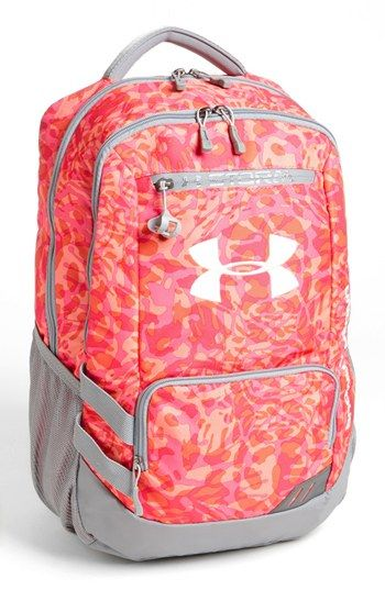 Under Armour 'Hustle' Backpack available at #Nordstrom I wish it was blue and green