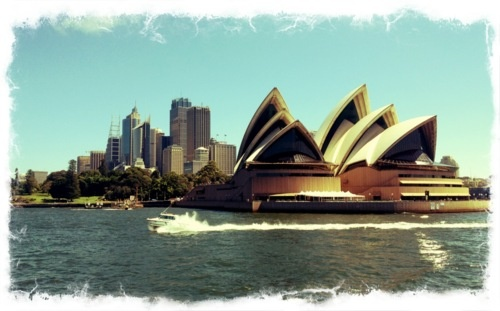 Ferry to Manly [australia]