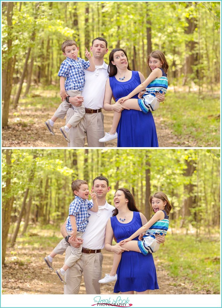 woodsy family photo shoot, family of four, summer family photos, military family, Navy family, pre-deployment photos, Operation Love Reunited, OpLove, Fresh Look Photography, fun family photos