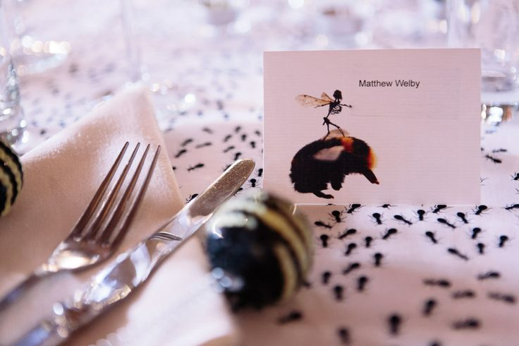 Insect and Creepy Crawly Themed Wedding: Tessa & Matthew