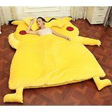 New style Totoro Double bed Totoro bed Totoro sleeping bag (1.5x2.0m) yellow deals week
